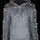 Thumbnail: Black/Grey Reflective 4 Bolt Hoodie