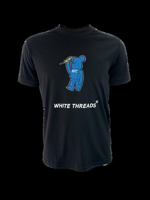Black 3D Bear T-Shirt