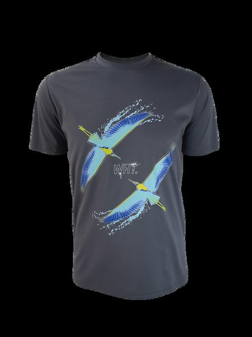 Steel Grey Bird Duo T-Shirt