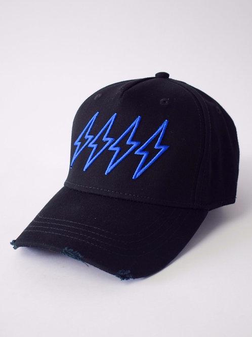 Blue 4 Bolt Cap