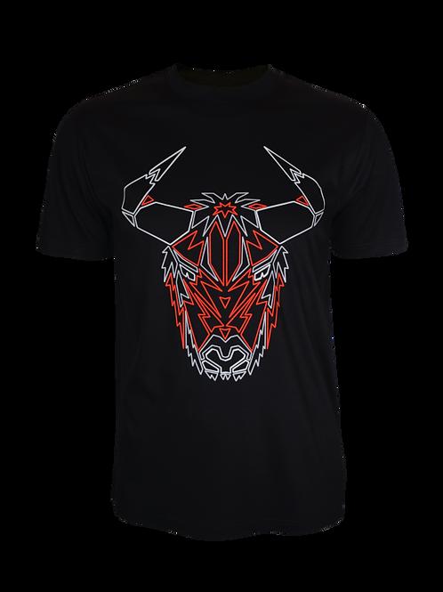 Black Reflective Yak T-Shirt