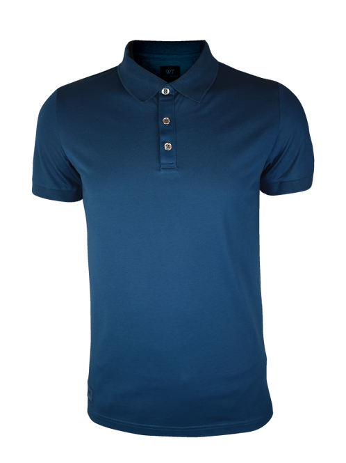 Kids Navy Polo Top