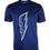 Thumbnail: Navy Reflective Bolt T-Shirt