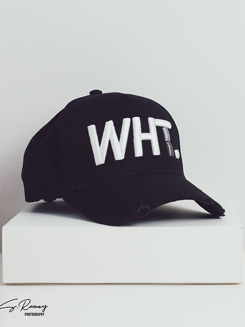 Black & White WHT Cap