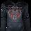 Thumbnail: Black Reflective Tiger (Red) Hoodie