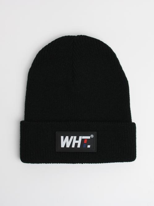 'Black' WHT Logo Beanie