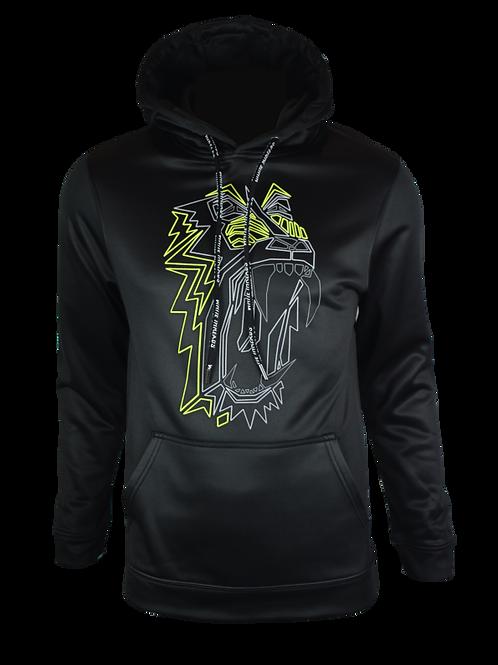 Black Reflective Baboon (OG Neon) Hoodie