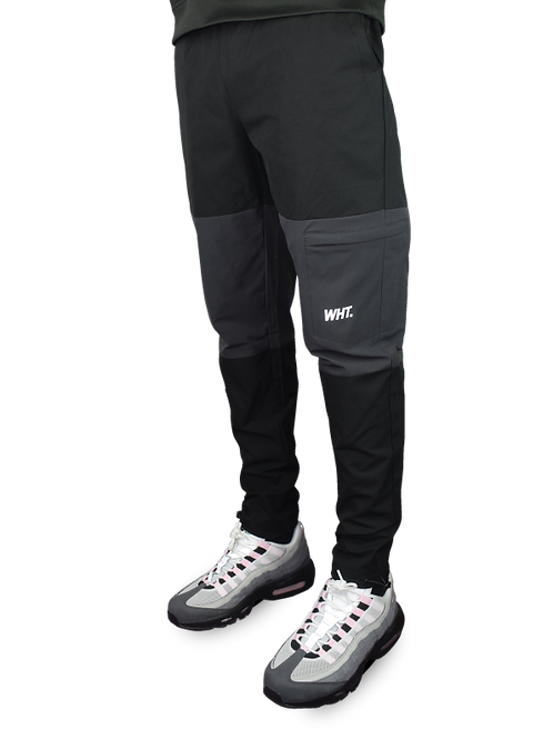 Kids Black / Dark Grey Combat V3 Tracksuit Bottoms