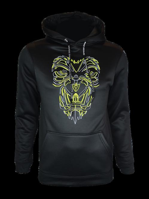Black Reflective Gorilla (OG Neon) Hoodie