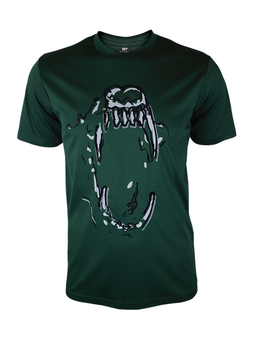 Forest Green Reflective Bite 2.0 T-Shirt