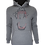 Thumbnail: Grey Reflective Bite (Red) Hoodie