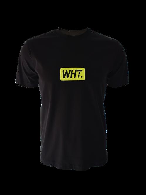 Black / Neon 3D WHT T-Shirt