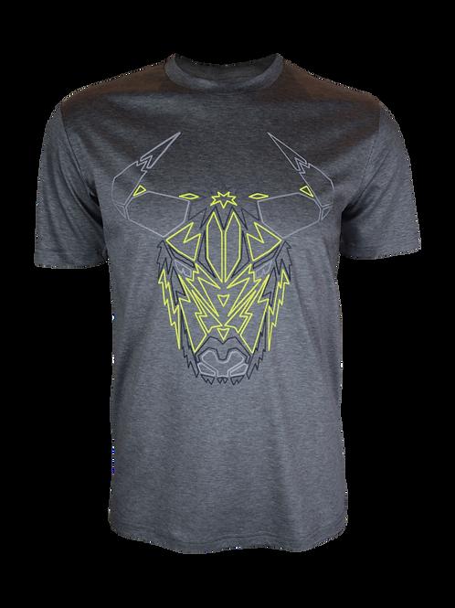 Grey Reflective Yak T-Shirt