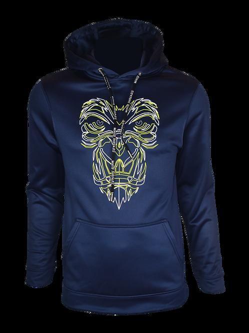 Navy Reflective Gorilla (OG Neon) Hoodie