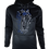 Thumbnail: Black Reflective Baboon (Blue) Hoodie