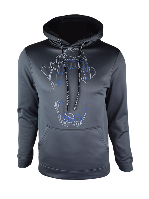 AW20 Grey Reflect Bite Hoodie V2