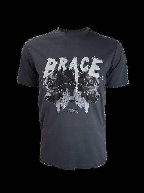 Steel Grey Brace T-Shirt