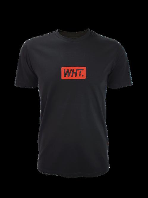 Black / Red 3D WHT T-Shirt
