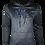 Thumbnail: Grey Reflective Baboon (Blue) Hoodie