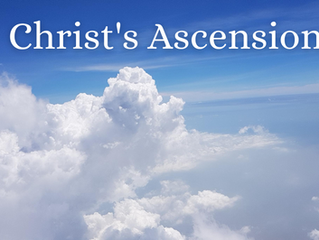 Christology Series: Christ's Ascension