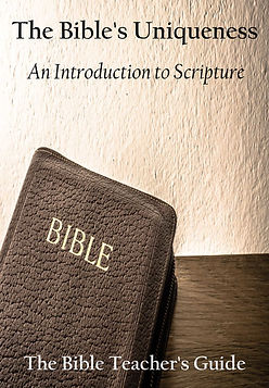 BTG The Bible's Uniqueness Front Cover.j