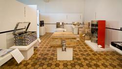 Dresser Trunk Traveling Exhibition
