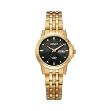 Ladies Gold Tone Quartz Watch