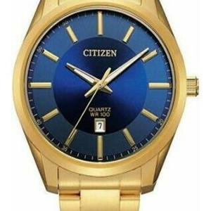 Gold Tone Stainless Steel Quartz Watch