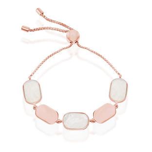 Mother of Pearl Rose Bracelet