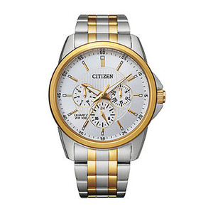 Stainless Steel Chronograph Quartz Watch