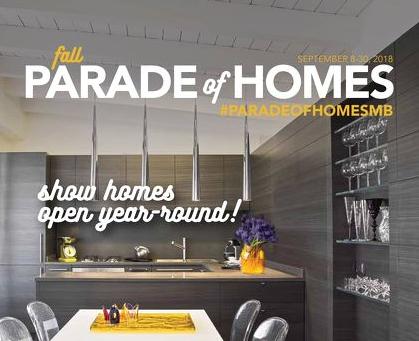 2018 Fall Parade of Home Awards