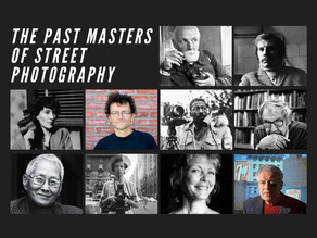 10 Past Masters of Street Photography