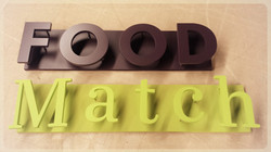 Finished sign for Food Match