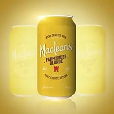 MacLean's Ale - Farmhouse Blonde