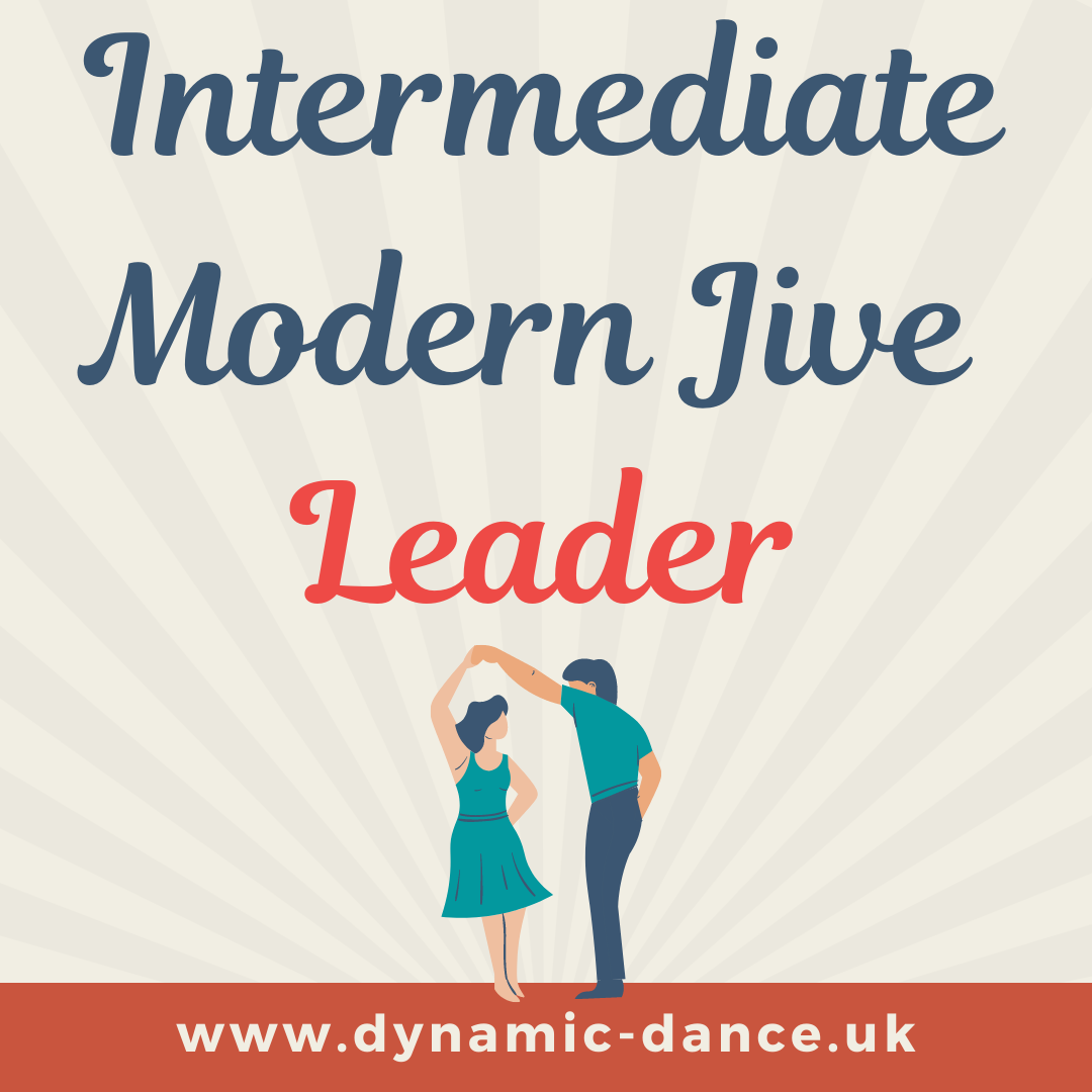 Modern Jive/LeRoc - Intermed - Leader