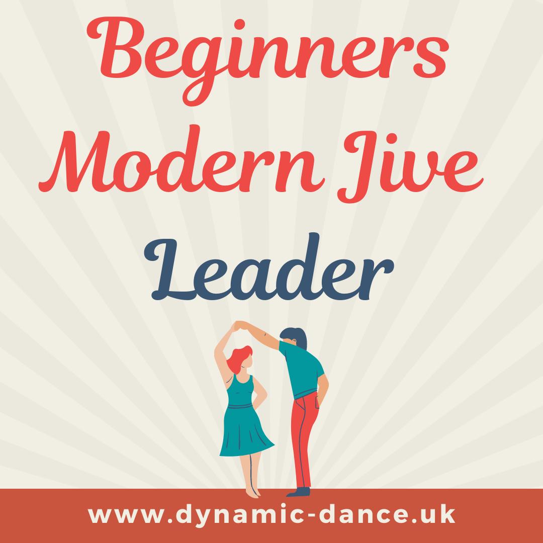 Modern Jive/LeRoc - Beginners - Leader