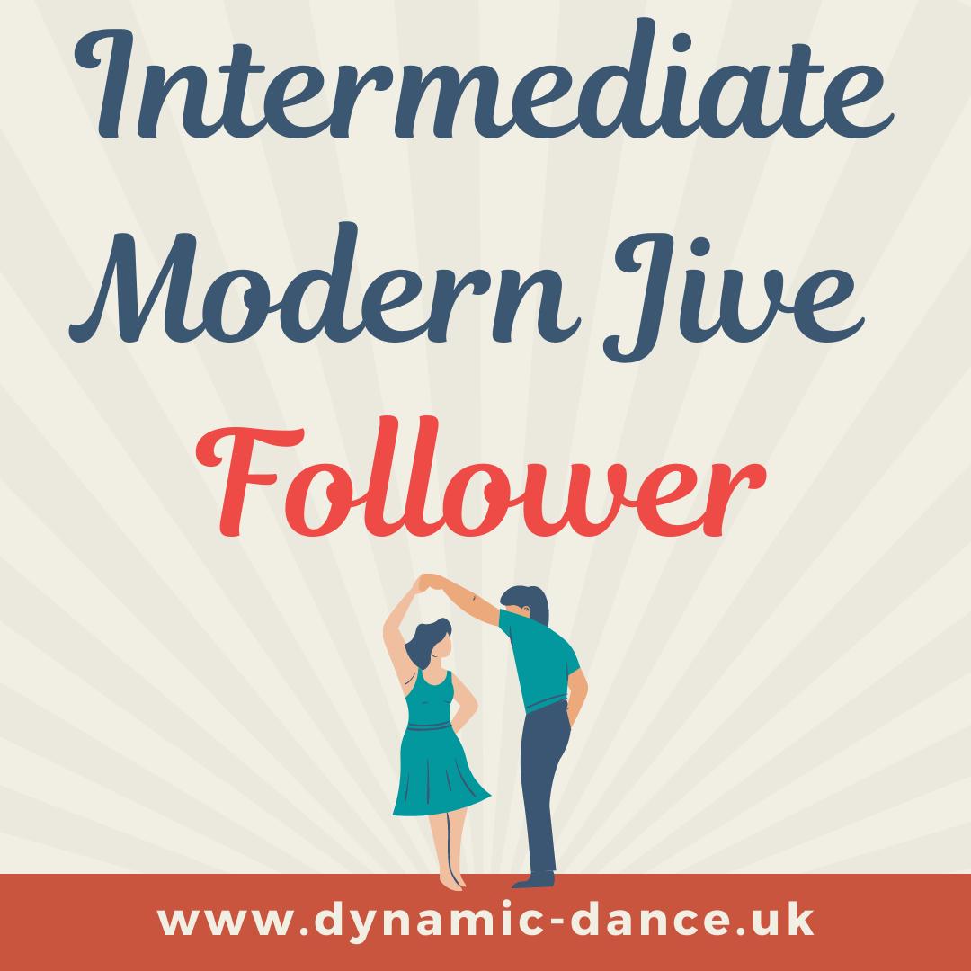 Modern Jive/LeRoc- Intermed - Follower