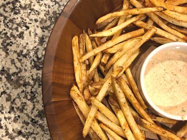 Homemade Air Fryer Fries