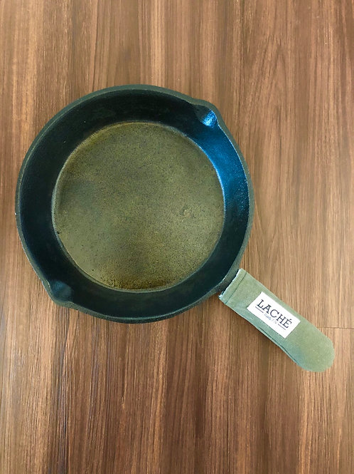 Laché Supply & Co. + Cast Iron Chef Chronicles Canvas Skillet Pot Holder