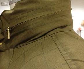 Laché cargo jacket details