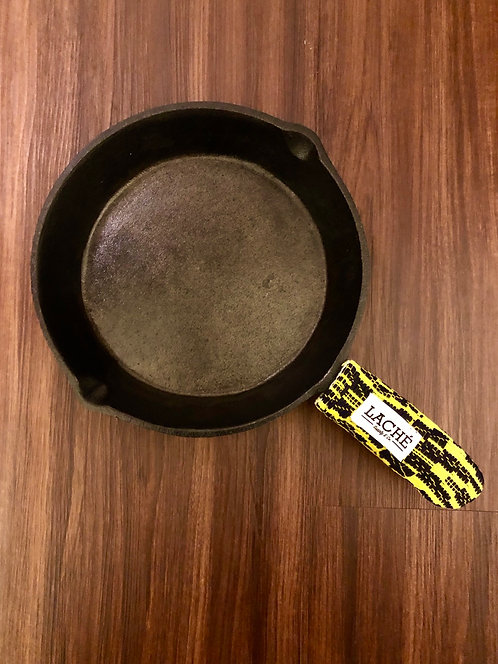 Laché Supply & Co. + Cast Iron Chef Chronicles Silk/Cotton Skillet Pot Holder