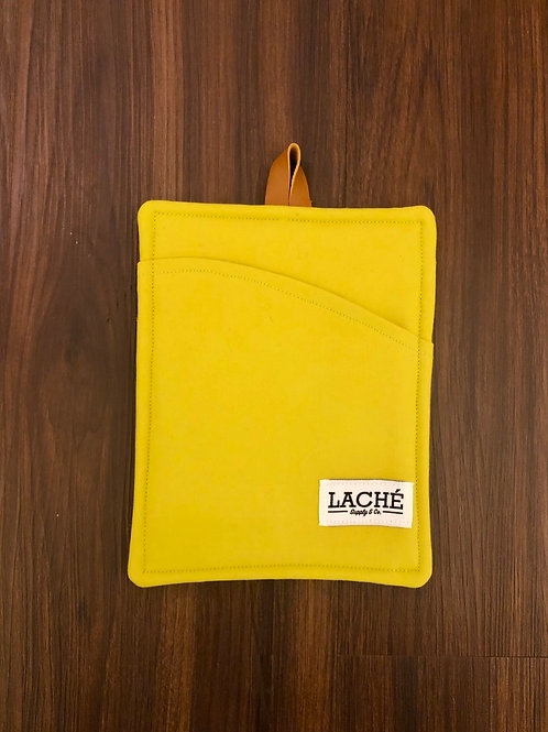 Laché Supply & Co. + Cast Iron Chef Chronicles Twill Pot Holder