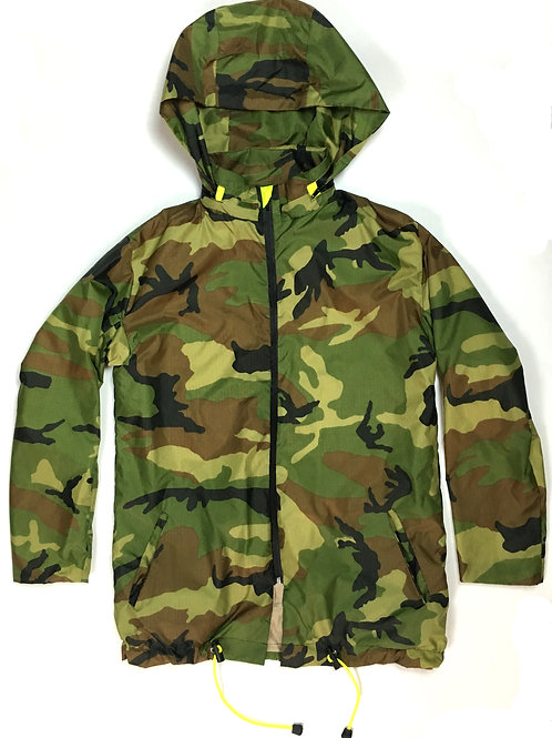 FATIGUE hooded jacket