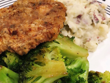 Southern Pan-Fried Pork Chops