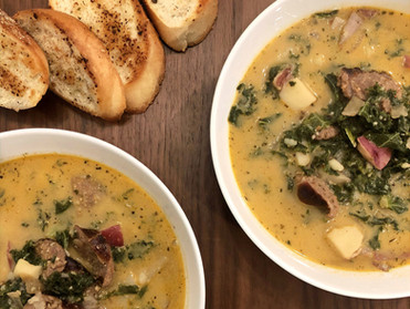 Spicy Zuppa Toscana Soup