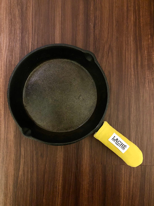 Laché Supply & Co. + Cast Iron Chef Chronicles Twill Skillet Pot Holder