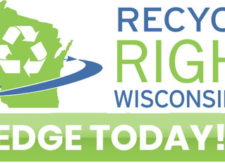Pledge to Recycle Right Wisconsin and Help Celebrate America Recycles Day!