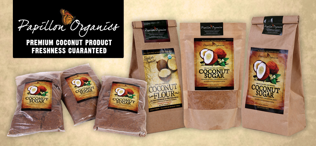 Papillon Organics Coconut Products