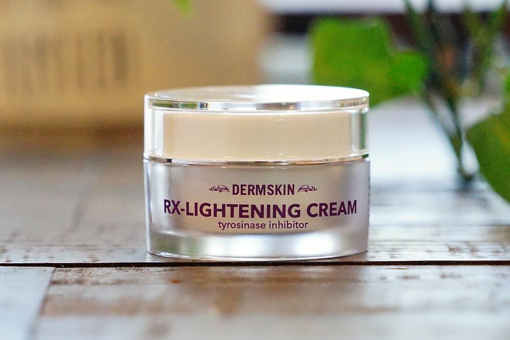 Dermskin RX-Lightening Cream (tyrosinase inhibitor)