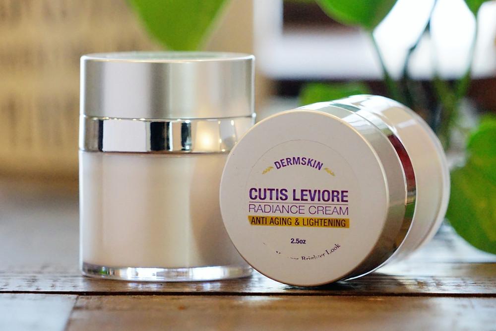 Cutis Leviore Radiance Cream with a unique anti-aging formula